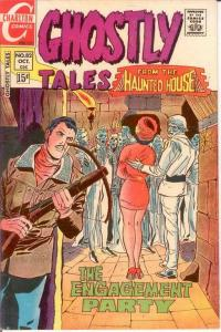 GHOSTLY TALES (1966-1984) 82 VF Ditko art  Oct. 1970 COMICS BOOK
