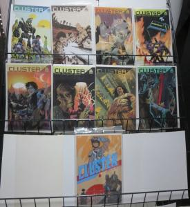 CLUSTER (Boom 2015) #1-8 plus 5A.  VF-NM. Bagged/Boarded. Brisson,Couceiro