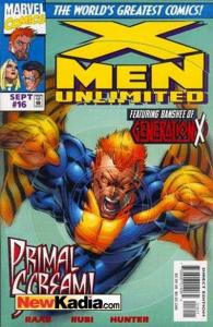 X-Men Unlimited (1993 series) #16, NM (Stock photo)