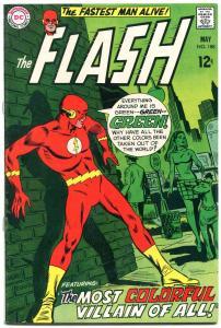 FLASH #188 1969-DC COMICS-WORLD GONE GREEN---HIGH GRADE VF