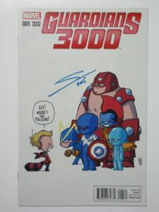 Guardians 3000 (Marvel 2014) #1 + Two Variants All Signed by Gerardo Sandoval