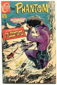 THE PHANTOM #31 1969-CHARLTON COMICS-HELICOPTER-APARO FN