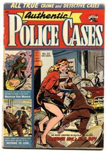 AUTHENTIC POLICE CASES #33-1954 ST JOHN-SPICY GOOD GIRL ART-MATT BAKER