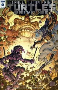 Teenage Mutant Ninja Turtles Universe #9 VF/NM; IDW   save on shipping - details