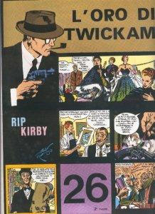 Rip Kirby de Alex Raymond numero 26: L,oro di Twickam, segunda parte