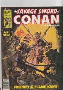 Savage Sword of Conan #31