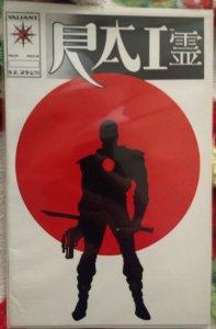 Rai #0 NM *KEY ISSUE* 1st Appearance of Bloodshot!!!