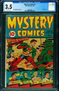 Mystery Comics #2 CGC 3.5-Alex Schomburg-BONDAGE 1280158007