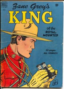 King of The Royal Mounted-Four Color Comics #283 1950-Dell-Zane Grey-RCMP-VG+