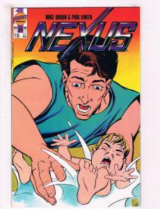 Nexus #54 NM First Comics Comic Book Baron 1989 DE25