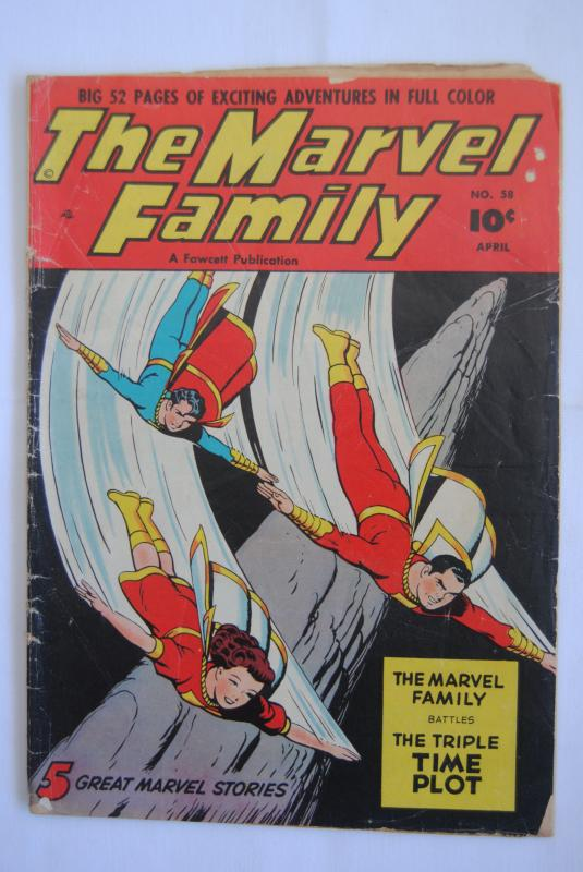 The Marvel Family 58