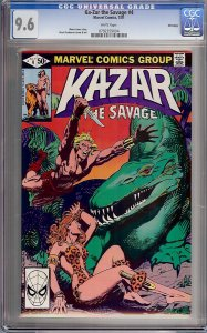 Ka-Zar the Savage #4 (Marvel, 1981) CGC 9.6