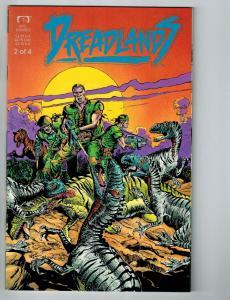 Dreadlands # 2 Marvel Epic Comic Book Limited Mini Series 1 Of 4 Dinosaur S2