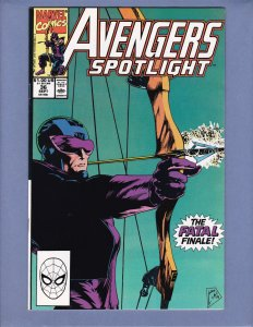 Avengers Spotlight #36 NM- Marvel 1990