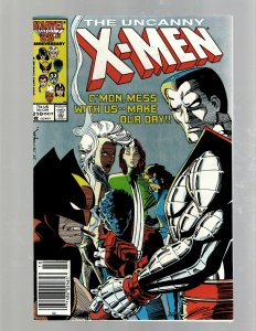 Uncanny X-Men # 210 VF/NM Marvel Comic Book Beast Angel Cyclops Magneto SM19