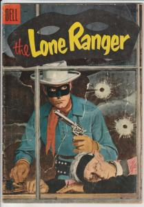 Lone Ranger, The #83 (May-55) FN- Mid-Grade The Lone Ranger, Tonto, Silver