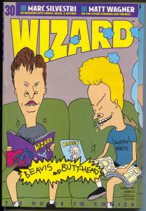 Wizard Guide To Comics #30 1994-Beavis & Butthead-comics info-FN-