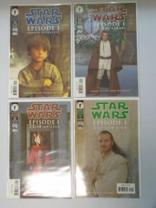Star Wars Episode 1 lot 4 different issues 8.5 VF+ (1999 Dark Horse)