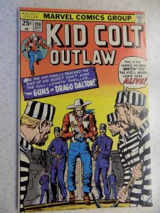KID COLT OUTLAW # 198 MARVEL BRONZE WESTERN ACTION ADVENTURE GUN VG/FN