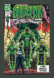 Green Lantern #6 / 9.2 NM - 9.4 NM (2nd Series)  November 1990