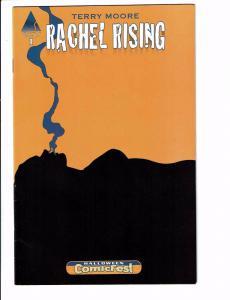 Rachel Rising # 1 VF/NM Halloween ComicFest Comic Book Abstract Studio J89