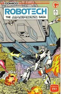 Robotech: The Macross Saga #2, NM- (Stock photo)
