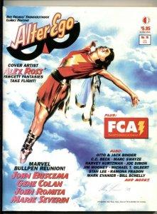 Alter Ego #16 2002- Alex Ross- Marvel Bullpen reunion