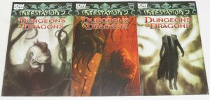 Infestation 2: Dungeons & Dragons #1-2 FN/VF complete series + variant - set