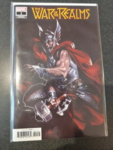 War Of The Realms #1 Dell Otto 1:10 Variant Cover Thor Marvel Comics