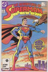 Adventures of Superman #424