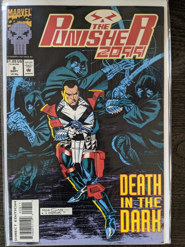 The Punisher 2099 #8 (1993)