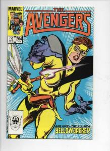 AVENGERS #264, NM-, YellowJacket, Wasp, 1963 1986, more Marvel in store