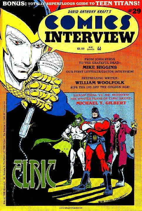 Comics Interview #29 VF; Fictioneer | save on shipping - details inside