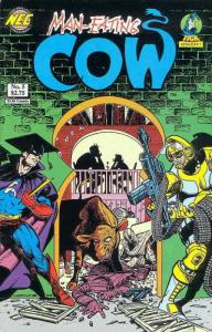 Man-Eating Cow #5 VF/NM; NEC   save on shipping - details inside