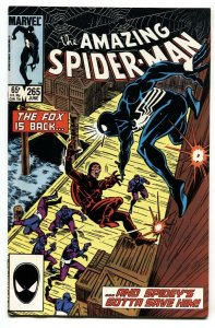 AMAZING SPIDER-MAN #265-First SILVER SABLE 1985-MARVEL VF/NM