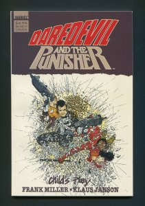 Daredevil / Punisher: Child's Play TPB (Frank Miller)  9.4 NM 2nd Print  1988