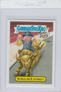 Garbage Pail Kids Wallace Street 21a GPK 2016 American As Apple Pie In Your Face