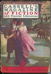 Cassell's Magazine of Fiction 10/1915-British adventure pulp-pre WWI-Rinehart-G+