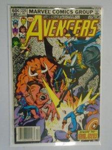 Avengers #226 Newsstand edition 7.0 FN VF (1982 1st Series)