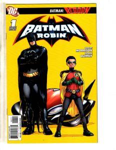 Lot Of 6 DC Comics Batman & Robin 1 10 11 13 124 + All Star Batman # 1 MK7