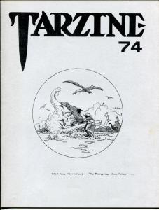 Tarzine #74 19898-Fanzine for collectors of Tarzan and ERB memorabilia-VF