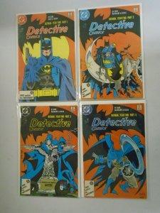 Detective Comics #575-578 Batman Year Two set 4.0 VG (1987 1st Series)