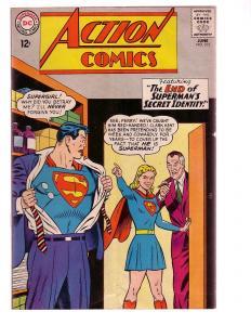 ACTION COMICS #313 1964-SUPERMAN-DC COMICS SUPERGIRL VG