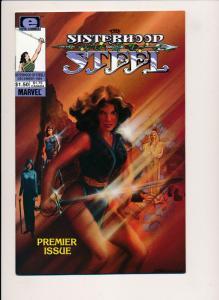 Epic/Marvel Comics The Sisterhood of Steel #1  ~ F/VF (HX877A1)