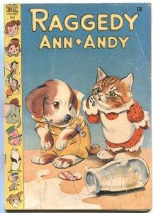 RAGGEDY ANN + ANDY #25-1948-SPILT MILK COVER-WALT KELLY ART---DELL