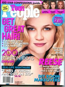 Teen People 10/2005-Reese Witherspoon-Star Confessions-STD's-FN/VF