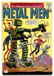 METAL MEN #9 DC comic book SILVER-AGE 1964