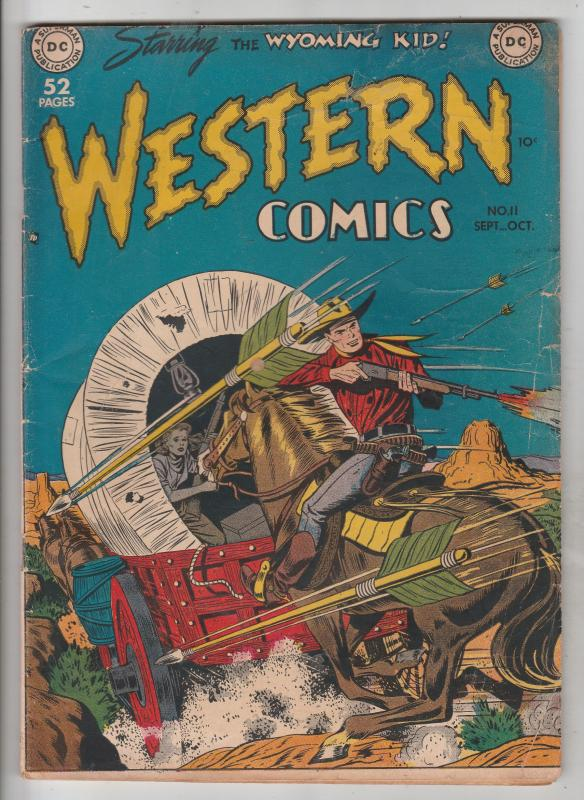Western Comics #11 (Sep-49) VG Mid-Grade The Nighthawk, Rodeo Rick, Wyoming Kid