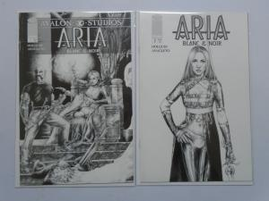 Aria Blanc and Noir, Set:#1+2, 8.0/VF (1999)