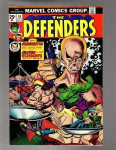 DEFENDERS 16 VG-F Magneto & the Brotherhood
